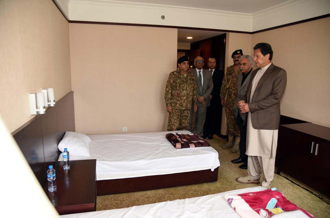 PM breaks ground for 250-bed isolation hospital in capital