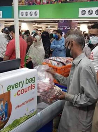 Superstores, ration distributors may be marring govt's efforts against COVID-19