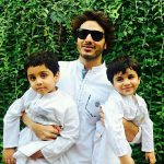 Ahsan Khan enjoys quality time with his sons