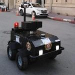 Coronavirus: Tunisia deploys 'police robot' amid lockdown