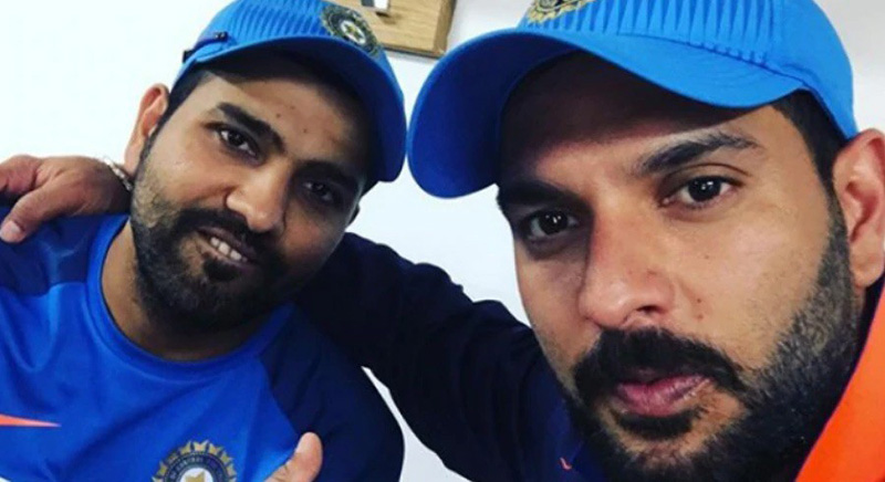 Yuvraj, Rohit make special request to India, Pakistan fans