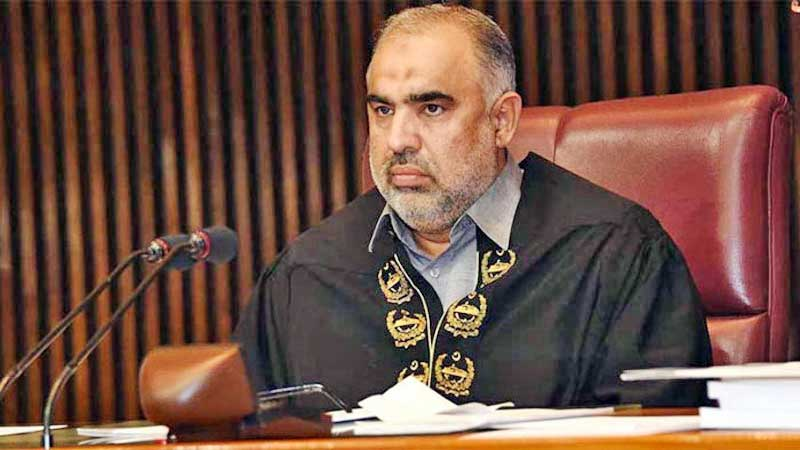 Record legislation done during ongoing parliamentary year: Asad Qaiser