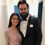 Yasir Hussain is impressed by Iqra's tailoring prowess