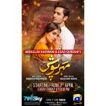 Ayeza and Danish Taimoor reunite for 7th Sky Entertainment's 'Meher Posh'