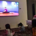 US kids stuck at home embrace online exercise classes