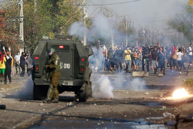 Chile virus cases soar as soldiers deploy following unrest