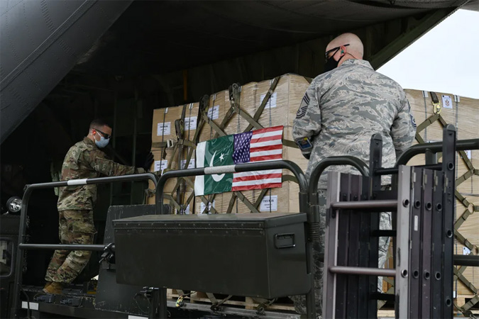 US thanks Pakistan for medical supplies to fight Covid-19
