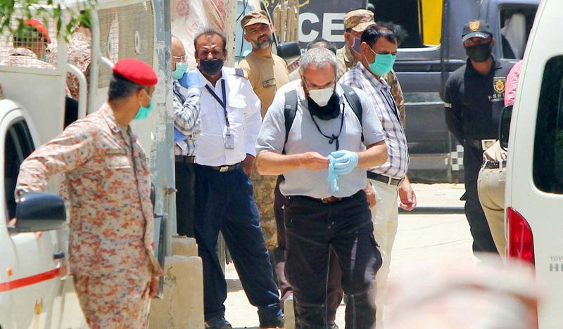 Probe opens as experts visit plane crash site in Karachi