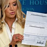 US President Donald Trump bank account details leaked