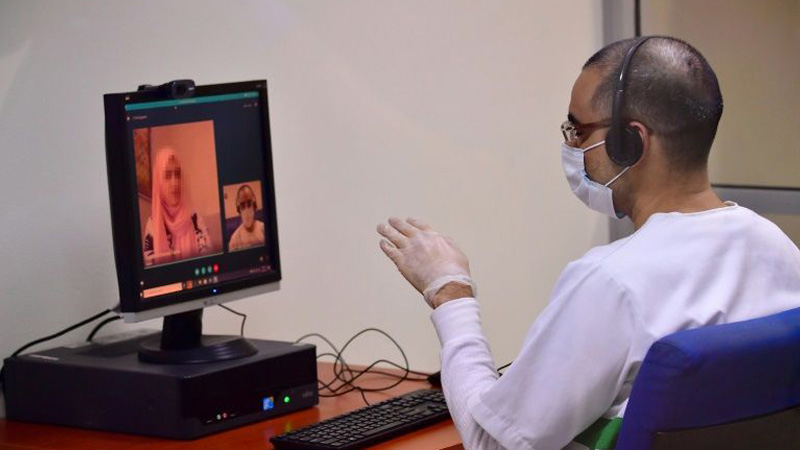 Dubai prison: Virtual visits and court hearing amid virus crisis
