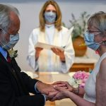 Love at first sight: pandemic accelerates courtship, wedding