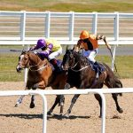 Thrumming hooves mark return of English sport at Newcastle