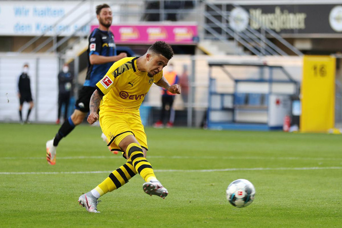 Sancho nets hat-trick, joins USA killing protest as Dortmund cruise