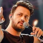 Atif Aslam unveils the music video poster with Sajal Aly