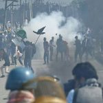 Protest against Civilians' killing in IOK