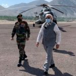 Narendra Modi visits Himalayan border where troops clashed with China
