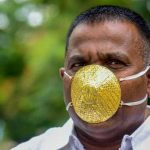Indian man shells out $4,000 for gold face mask to ward off coronavirus
