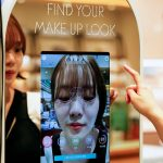 South Korean 'augmented reality' mirror allows touchless cosmetics shopping