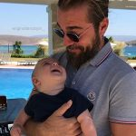 Engin Altan spotted enjoying bicycle ride with son Emir