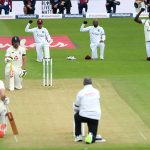 England reach 35-1 as rain hits first Test against West Indies
