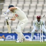 England stutter on day two as Holder records career-best figures