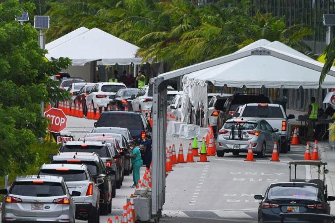 virus catastrophe unfolds in Florida