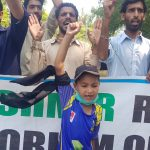 People of Kashmir marked Black day on 5th August