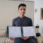 Government, UNHCR pay tribute to refugee student for earning distinction