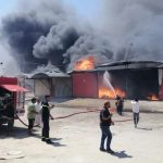 Fire in food and electrical storages in Najaf