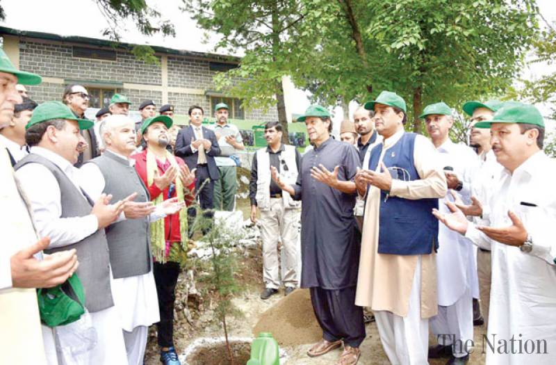 Pakistan launches 10 Billion Tree Tsunami drive today