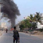 Blast rocks military base in Somali capital, at least eight dead