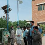 Nazeer Hussain University Celebrates Pakistan 73rd independence day