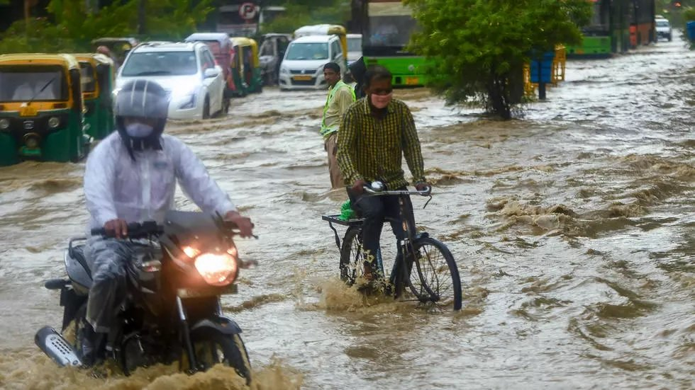 Floods in Delhi as South Asia monsoon toll rises to just about 1,300