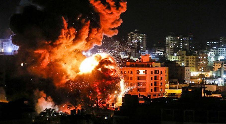 Israeli warplanes launch airstrikes in Gaza