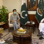 Shehzad Roy and Wasu meet Balochistan chief minister