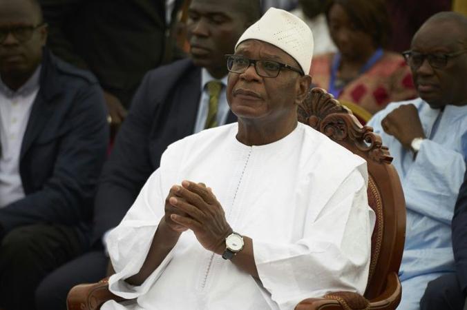 Ibrahim Boubacar Keita, Mali's ousted president