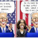 'Little brown girl': Australian Biden-Harris cartoon sparks furore