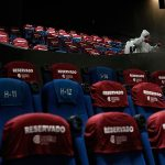 Mexico City reopens movie theaters to sparse crowds