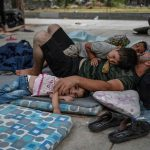 Refugees freed from Greek camp 'hell' left homeless