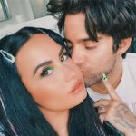 Demi Lovato is pretty in pink while celebrating 5-month anniversary with fiancé Max Ehrich