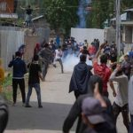 Angry clashes erupt in IIOJK as Indian forces martyr four