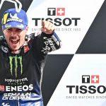 Vinales wins Emilia Romagna Grand Prix as Bagnaia crashes