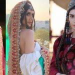 Gokce Hatun from Ertugrul looks gorgeous in Pakistani bridal dress