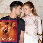 Zayn Malik introduces Gigi to Shahrukh Khan as they watch 'Devdas' together