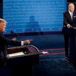 Asian markets mixed as Biden, Trump trade barbs
