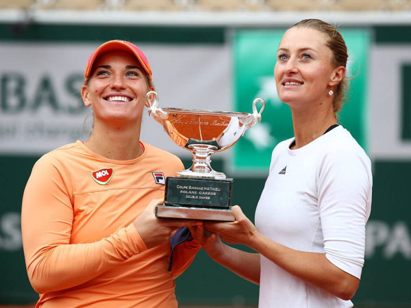 Babos, Mladenovic Defend Doubles Title