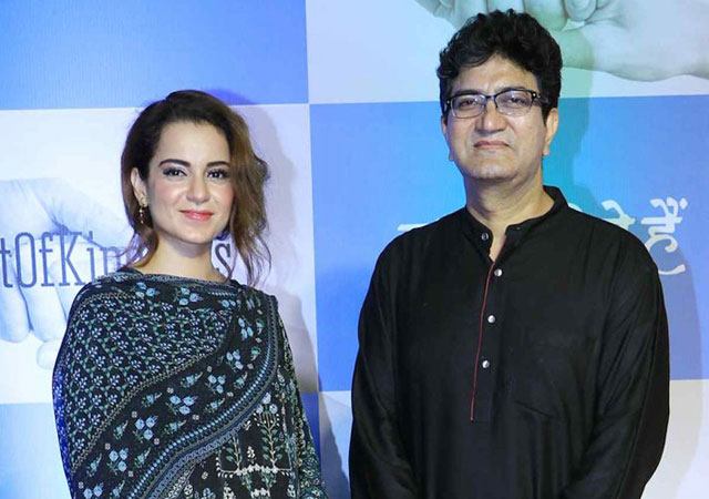 The Central Board of Film Certification (CBFC) Chairman Prasoon Joshi recently came out in support of actress Kangana Ranaut in the ongoing Bollywood