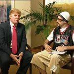 Donald Trump calls Borat star Sacha Baron Cohen an unfunny 'creep'
