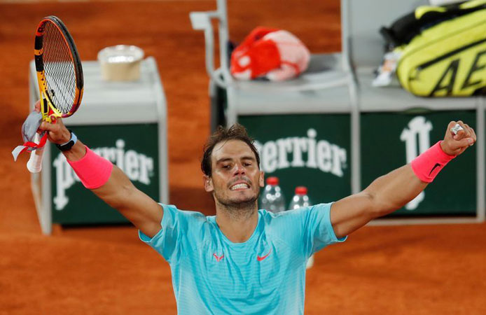 Nadal hails Italy's Sinner after French Open battle - English