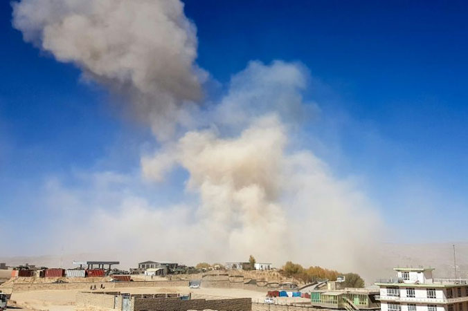 United States envoy slams Afghan bloodshed as auto bomb toll rises